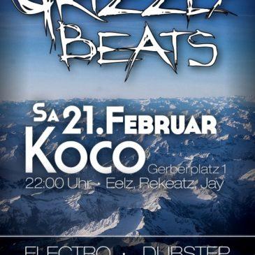 Eventphotos von Grizzly Beats 2015/02/21