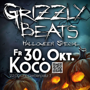 Grizzly Beats Halloween Special 2015!