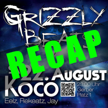 Grizzly Beats 2015/08/22 Recap