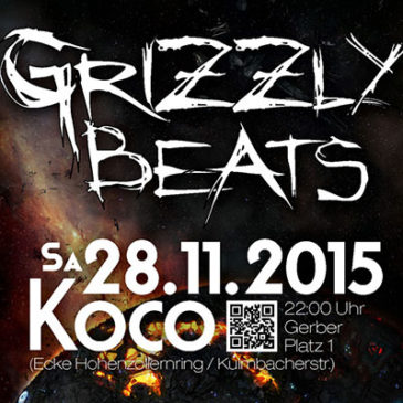 Grizzly Beats am Sa. 28.11.2015!