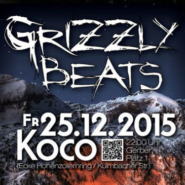 Grizzly Beats am Fr. 25.12.2015!