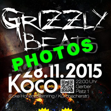 Grizzly Beats 2015/11/28 Photos