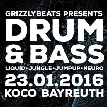 Strictly Drum & Bass am 23.01.2016!