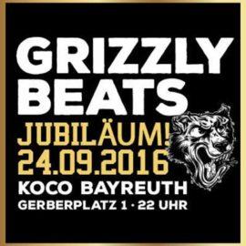 Grizzly Jubiläum am 24.09.2016