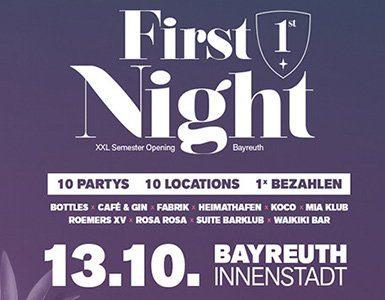 First Night 2018