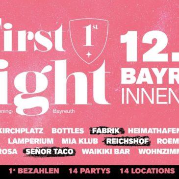 First Night am 12.10.2019